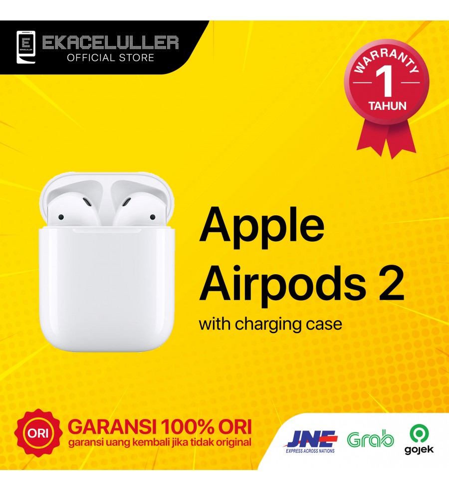 Airpods 2 With Charging Case NEW Internasional