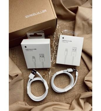 Kabel USB To Lightning 2M Original Internasional Garansi 6 Bulan (Compatible for iPhone 5, 5c, 5s, 6, 6Plus, 7, 7Plus, 8, 8Plus, X, XS, XR, XSMax, SE 2, 11, 11 Pro, 11 Pro Max)