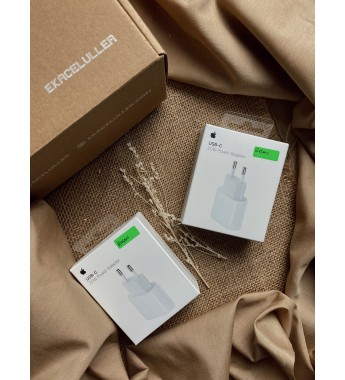 Adaptor 20W Original Apple TAM Garansi 6 Bulan (COMPATIBLE FOR iPhone 12 Mini, 12, 12 Pro, 12 Pro Max, iPad Pro, iPad Air)