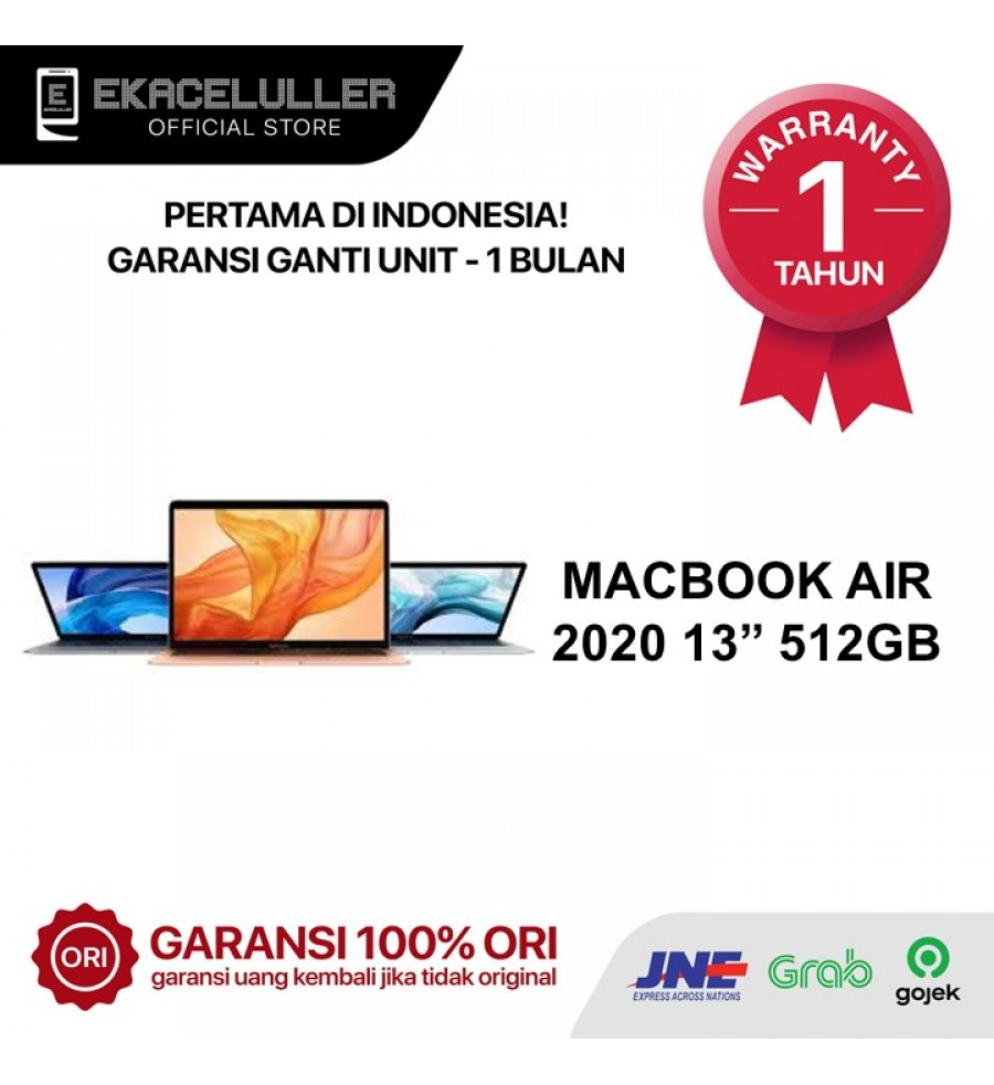 Apple Macbook Air 2020 512GB NEW Internasional