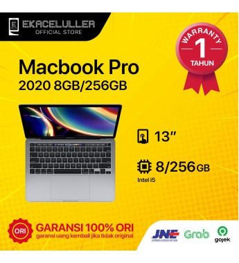 Apple Macbook Pro 2020 256GB Gray Internasional