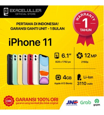 iPhone 11 NEW Garansi Internasional