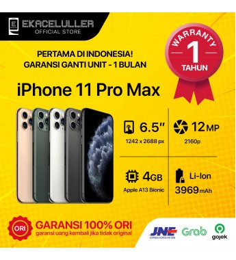 iPhone 11 Pro Max NEW Garansi Internasional