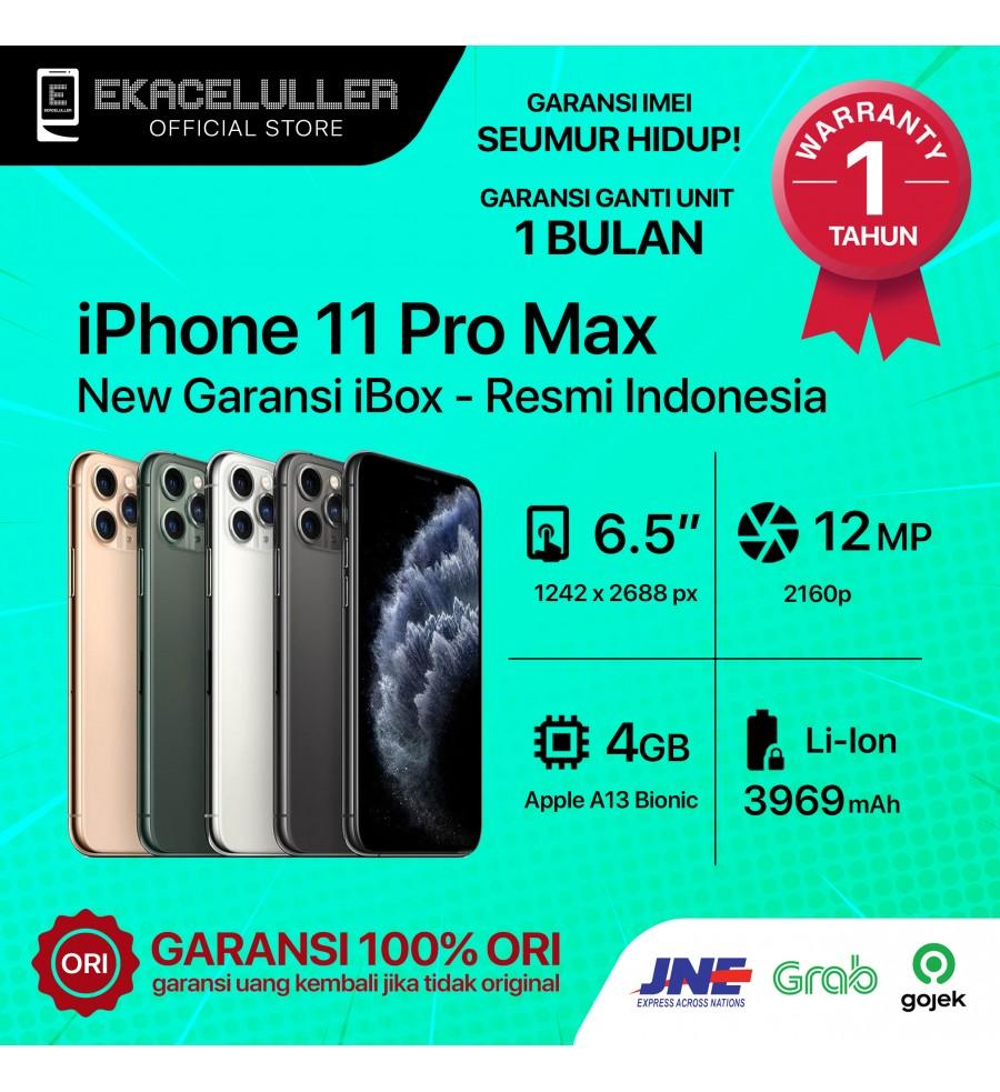 iPhone 11 Pro Max NEW Garansi Resmi TAM