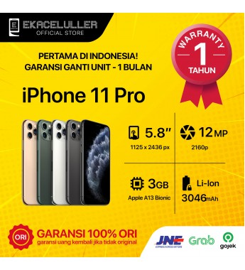 iPhone 11 Pro NEW Garansi Internasional