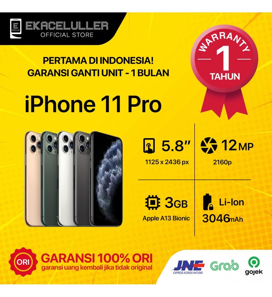 iPhone 11 Pro NEW Garansi Internasional