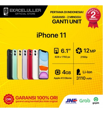 iPhone 11 Second Ex Internasional