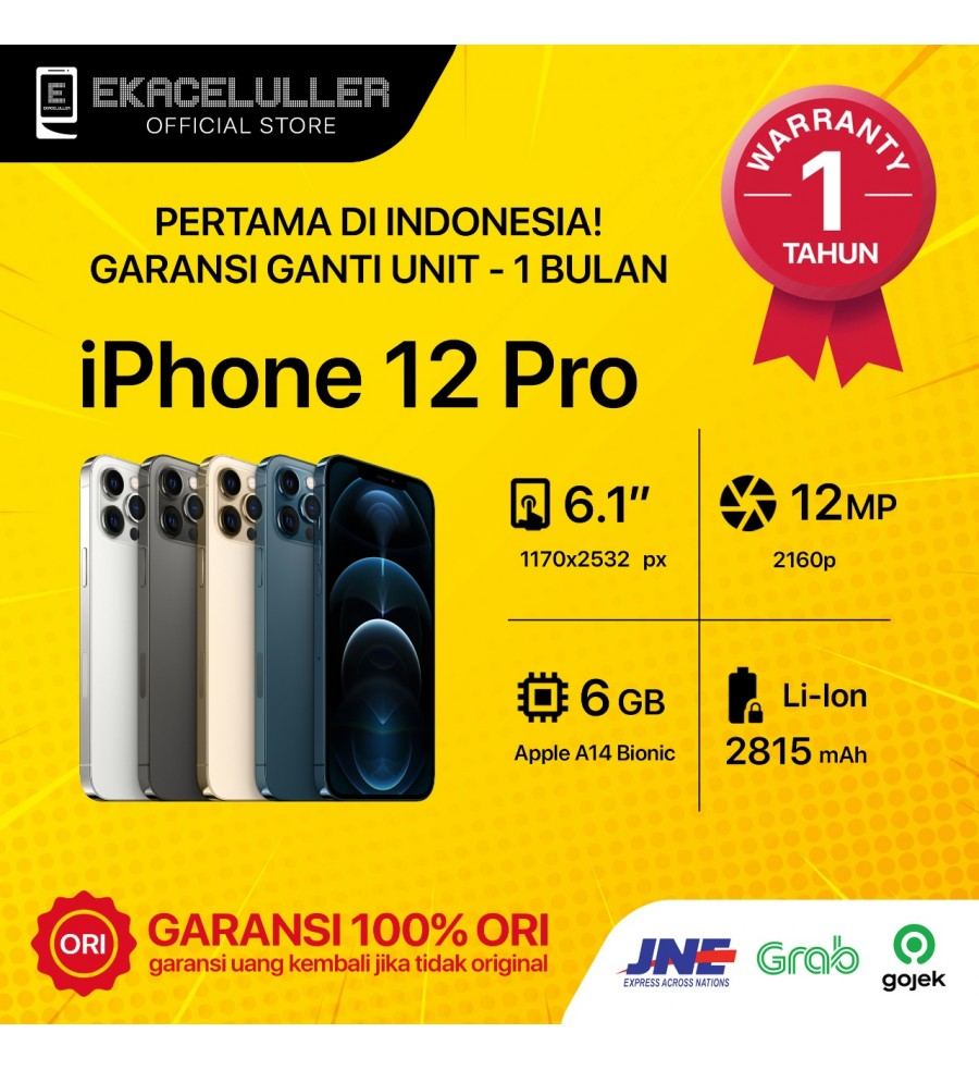 iPhone 12 Pro NEW Garansi Internasional