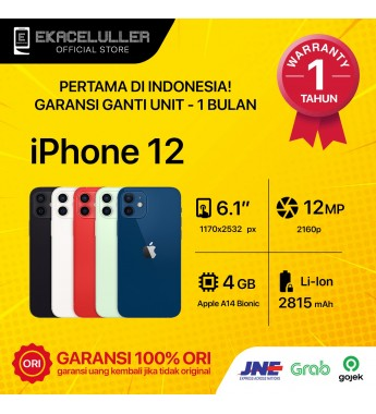 iPhone 12 NEW Garansi Internasional
