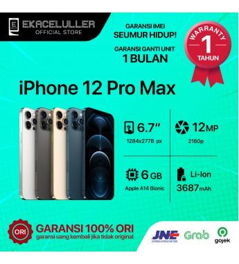 iPhone 12 Pro Max NEW Garansi Resmi TAM