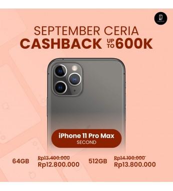 iPhone 11 Pro Max 64GB Second Ex Internasional