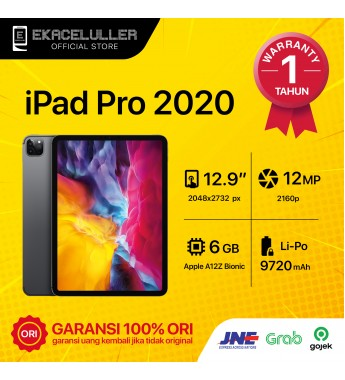 "iPad Pro 2020 (12,9"") WiFi Only NEW Internasional"